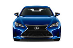 Car photography straight front view of a 2019 Lexus RC 350 2 Door Coupe