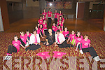 RIBBON: The Oliver Hurley Stage School and 24/7 Taxi show their support to Orlaight Winthers Breast Cancer fund raising at the Grand Hotel, Tralee on Friday night............................ ..........