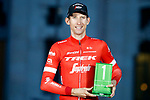 Bauke Mollema (NED) Trek-Segafredo wins the most combative award at the end of the final Stage 21 of the La Vuelta 2018, running 100.9km for Alcorcon to Madrid, Spain. 16th September 2018.                   <br /> Picture: Unipublic/Photogomezsport | Cyclefile<br /> <br /> <br /> All photos usage must carry mandatory copyright credit (© Cyclefile | Unipublic/Photogomezsport)