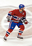 16 January 2007: Montreal Canadiens center and team captain Saku Koivu of Finland in action against the Vancouver Canucks at the Bell Centre in Montreal, Canada. The Canucks defeated the Canadiens 4-0.Mandatory Credit: Ed Wolfstein Photo *** Editorial Sales through Icon Sports Media *** www.iconsportsmedia.com