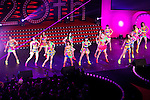 """E-girls, December 10, 2014, Tokyo, Japan : E-girls performs at the """"Samantha Thavasa Special party in Tokyo"""" Japan on December 10, 2014. The fashion brand celebrates its 20th anniversary with a special event which bring together international and local celebrities at Tokyo Dome City Hall. (Photo by Rodrigo Reyes Marin/AFLO)"""