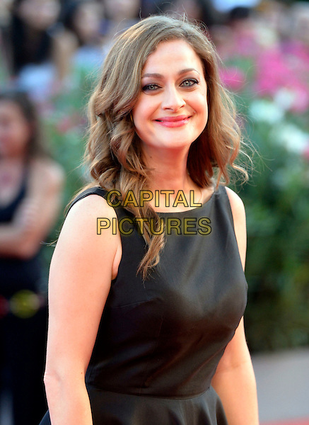 Eleni Roussinou<br /> attending the Closing Ceremony of the 70th Venice International Film <br /> Festival at Palazzo del Cinema in Venice, Italy, September 7th 2013.<br /> half length black dress sleeveless<br /> CAP/ZZG<br /> &copy;ZZG/Capital Pictures