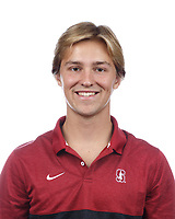 Stanford, CA - September 20, 2019: Max Evans, Athlete and Staff Headshots