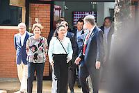 PIRACICABA,SP, 14.10.2015 - DILMA-SP. A presidente Dilma Rousseff durante a inauguração do complexo de laboratórios de biotecnologia do CTC ( Centro de Tecnologia Canavieira ), em Piracicaba (SP), nesta quarta-feira, 14. (Foto: Mauricio Bento/ Brazil Photo Press/Folhapress)