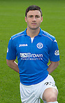 St Johnstone FC 2014-2015 Season Photocall..15.08.14<br /> Michael O'Halloran<br /> Picture by Graeme Hart.<br /> Copyright Perthshire Picture Agency<br /> Tel: 01738 623350  Mobile: 07990 594431