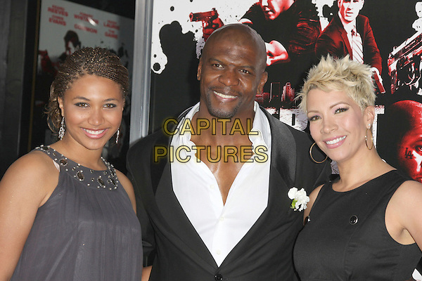 "TERRY CREWS & FAMILY .""Street Kings"" Los Angeles Premiere held at Grauman's Chinese Theatre, Hollywood, California, USA,.03 April 2008..portrait headshot .CAP/ADM/`CH.©Charles Harris/Admedia/Capital PIctures"