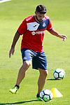Getafe's Jorge Molina during training session. September 12,2017.(ALTERPHOTOS/Acero)