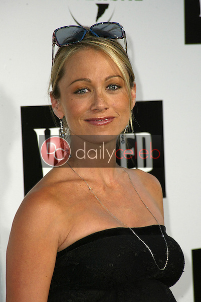 """Christine Taylor<br /> at the LA Premiere of Universal's """"Wicked,"""" Pantages Theater, Hollywood, CA 06-22-05<br /> David Edwards/DailyCeleb.Com 818-249-4998"""