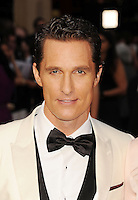 WWW.BLUESTAR-IMAGES.COM   Actor Matthew McConaughey attends the 86th Annual Academy Awards held at Hollywood &amp; Highland Center on March 2, 2014 in Hollywood, California.<br />