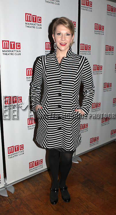 Joyce Didonato attending the Opening Night Party for the Manhattan Theatre Club's 'Golden Age' at Beacon Restaurant in New York City on December 4, 2012.
