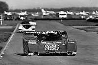 SEBRING, FL - MARCH 23: AJ Foyt drives the Preston Henn Porsche 962 104 en route to victory in the 12 Hours of Sebring IMSA Camel GT race on March 23, 1985, at the Sebring International Raceway near Sebring, Florida. The Foyt and co-driver Bob Wollek of France led by four laps at the finish , and it was the final major race victory of Foyt's storied career. (Photo by Bob Harmeyer)