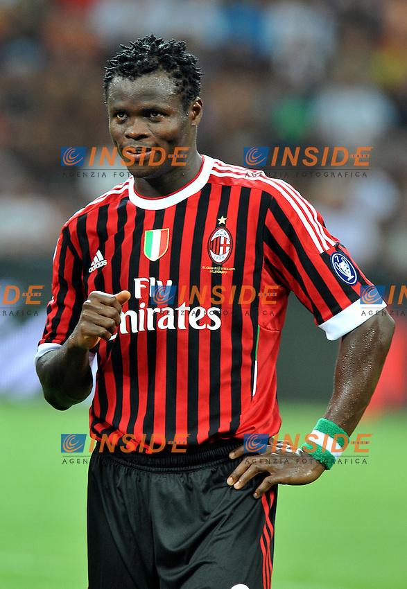"Taye TAIWO (Milan).Milano 21/8/2011 Stadio ""Meazza"".Trofeo Berlusconi.Football Calcio Milan Vs Juventus.Foto Insidefoto Alessandro Sabattini..."