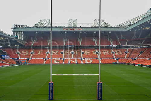 7th October 2017, Old Trafford, Manchester, England; Betfred Super League Grand Final, Castleford Tigers versus Leeds Rhinos; Old Trafford ground reset for the rugby