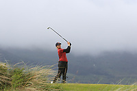 Amelia Garvey (NZL) on the 6th tee during Matchplay Semi-Finals of the Women's Amateur Championship at Royal County Down Golf Club in Newcastle Co. Down on Saturday 15th June 2019.<br /> Picture:  Thos Caffrey / www.golffile.ie