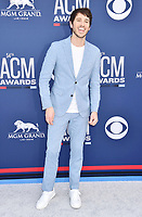 LAS VEGAS, CA - APRIL 07: Morgan Evans attends the 54th Academy Of Country Music Awards at MGM Grand Hotel &amp; Casino on April 07, 2019 in Las Vegas, Nevada.<br /> CAP/ROT/TM<br /> &copy;TM/ROT/Capital Pictures
