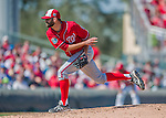 6 March 2016: Washington Nationals pitcher Burke Badenhop on the mound during a Spring Training pre-season game against the St. Louis Cardinals at Roger Dean Stadium in Jupiter, Florida. The Nationals defeated the Cardinals 5-2 in Grapefruit League play. Mandatory Credit: Ed Wolfstein Photo *** RAW (NEF) Image File Available ***