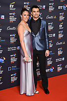Johanna Konta and Jackson wade<br /> arriving for the BT Sport Industry Awards 2018 at the Battersea Evolution, London<br /> <br /> ©Ash Knotek  D3399  26/04/2018