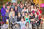 Louise O'Connor Killorglin seated centre celebrates her 21st in Bunkers bar Killorglin on Saturday