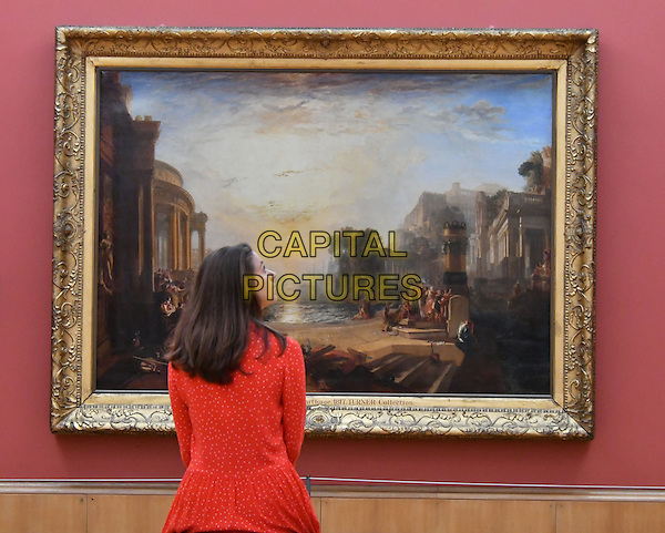 Iconic masterpieces by JMW Turner, Britain&rsquo;s Greatest Painter, return to UK following a major international tour. Tate Britain, London, England August 3rd,  2016.<br /> CAP/JOR<br /> &copy;JOR/Capital Pictures