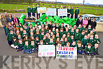 Pupils and teachers from Kilgobnet National School, Beaufort, who took part in their 4th annual Spring Clean over the weekend where 70 families from the area cleaned 35 miles of roads.