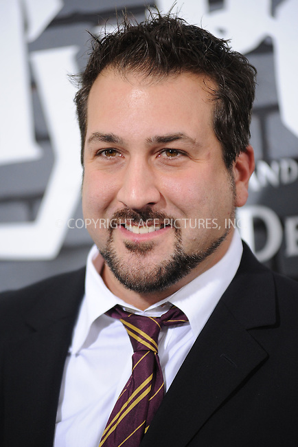 WWW.ACEPIXS.COM . . . . . .November 15, 2010...New York City... Joey Fatone attend the Premiere of Harry Potter And The Deathly Hallows: Part 1 at Alice Tully Hall on November 15, 2010 in New York City....Please byline: KRISTIN CALLAHAN - ACEPIXS.COM.. . . . . . ..Ace Pictures, Inc: ..tel: (212) 243 8787 or (646) 769 0430..e-mail: info@acepixs.com..web: http://www.acepixs.com .