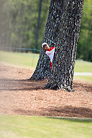 Yuka Yasuda (JPN) on the 9th during the second round of the Augusta National Womans Amateur 2019, Champions Retreat, Augusta, Georgia, USA. 04/04/2019.<br /> Picture Fran Caffrey / Golffile.ie<br /> <br /> All photo usage must carry mandatory copyright credit (&copy; Golffile | Fran Caffrey)