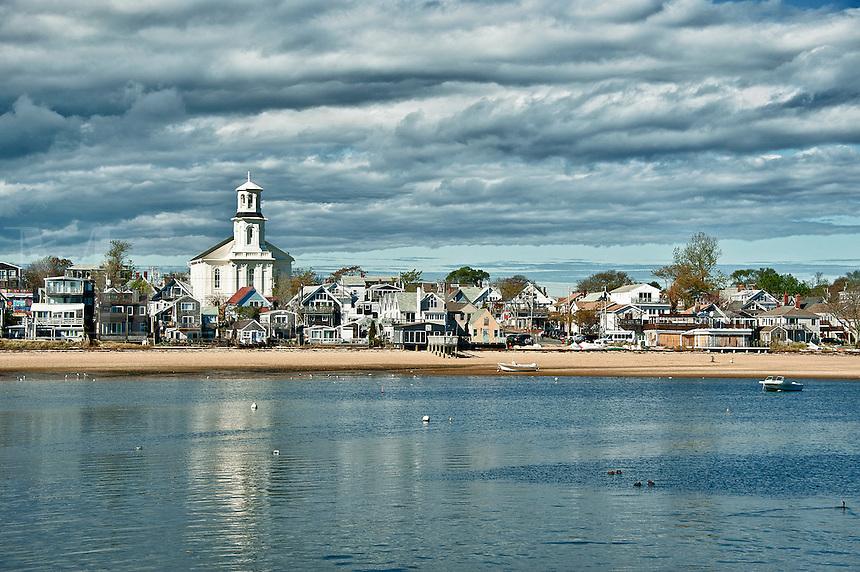 Provincetown skyline, Cape Cod, Massachusetts, USA