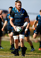 Gareth Evans during the Hurricanes training session at Northwood High School in Durban, South Africa on Tuesday, 28 May 2019. Photo: Steve Haag / stevehaagsports.com