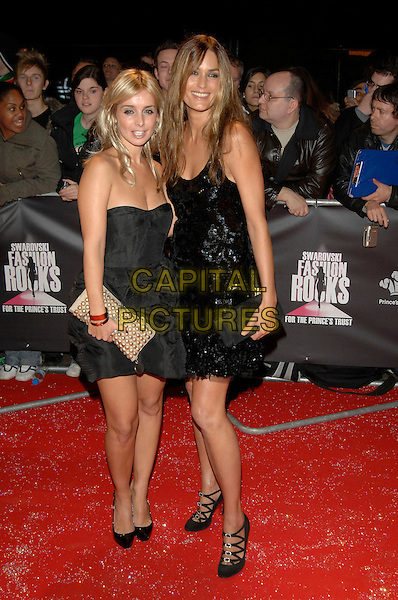 "LOUISE, YASMIN LEBON.""Swarovski Fashion Rocks"" at the Royal Albert Hall.18th October 2007 London, England.Ref: CAP/PL.©Phil Loftus/Capital Pictures."
