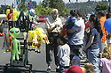 Balloon vendor at Whaling Days, Silverdale, WA Kitsap County community event. Stock photography by Olympic Photo Group