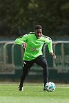 13.09.2017, Trainingsgelaende, Bremen, GER, 1.FBL, Training SV Werder Bremen<br /> <br /> im Bild<br /> Ulisses Alexandre Garcia (Werder Bremen #20), <br /> <br /> Foto &copy; nordphoto / Ewert
