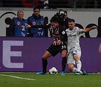 Goncalo Paciencia (Eintracht Frankfurt) gegen Aleksander Dragovic (Bayer Leverkusen) - 18.10.2019: Eintracht Frankfurt vs. Bayer 04 Leverkusen, Commerzbank Arena, <br /> DISCLAIMER: DFL regulations prohibit any use of photographs as image sequences and/or quasi-video.