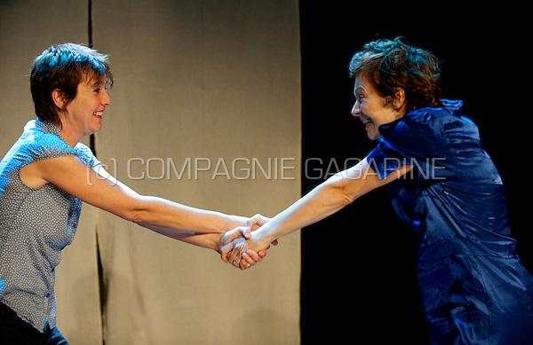 Theatertuinhuis playing Kwaad Bloed from author Marita De Sterck in Leuven (Belgium, 30/09/2009)