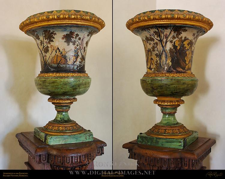 Marchetti Vases Apartment of the Elements Palazzo Vecchio Florence
