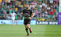 Northampton Saints's Cobus Reinach<br /> <br /> Photographer Stephen White/CameraSport<br /> <br /> European Rugby Challenge Cup - Northampton Saints v Clermont Auvergne - Saturday 13th October 2018 - Franklin's Gardens - Northampton<br /> <br /> World Copyright © 2018 CameraSport. All rights reserved. 43 Linden Ave. Countesthorpe. Leicester. England. LE8 5PG - Tel: +44 (0) 116 277 4147 - admin@camerasport.com - www.camerasport.com