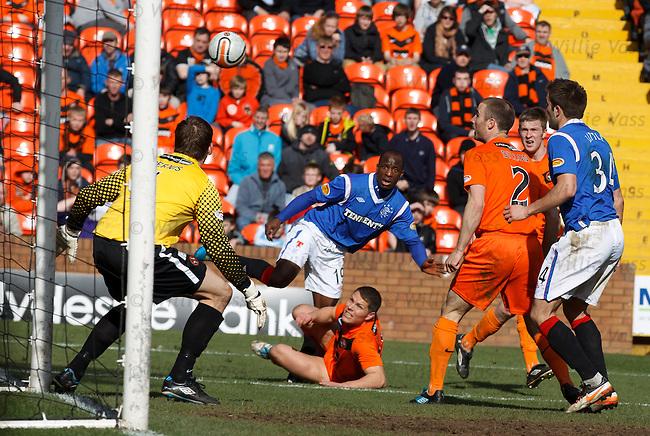 Sone Aluko scores for Rangers