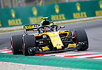 12.05.2018 Carlos Sainz (ESP) Reanult Sport Formula One Team at Formula One World Championship,  Spanish Grand Prix, Qualifying, Barcelona, Spain