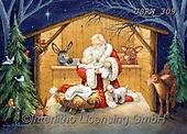Randy, HOLY FAMILIES, HEILIGE FAMILIE, SAGRADA FAMÍLIA, paintings+++++CC-Santa_and_Baby_Randy-sm,USRW309,#xr#