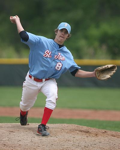 St. Joe Freshmen Baseball 2008. St. Joe vs. Marian.