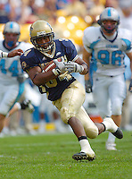 23 September 2006:  Pitt RB LaRod Stephens-Howling (34) ran for 65 yards and a TD and also caught 2 passes for 38 yards and a TD.  The Pittsburgh Panthers defeated the Citadel Bulldogs 51-6 September 23, 2006 at Heinz Field in Pittsburgh, PA...