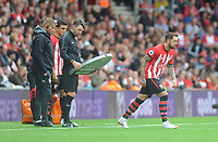 Southampton's Danny Ings comes on as a substitute<br /> <br /> Photographer Kevin Barnes/CameraSport<br /> <br /> The Premier League - Southampton v Burnley - Sunday August 12th 2018 - St Mary's Stadium - Southampton<br /> <br /> World Copyright &copy; 2018 CameraSport. All rights reserved. 43 Linden Ave. Countesthorpe. Leicester. England. LE8 5PG - Tel: +44 (0) 116 277 4147 - admin@camerasport.com - www.camerasport.com