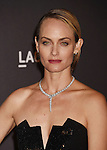 LOS ANGELES, CA - NOVEMBER 07: Model Amber Valetta attends LACMA 2015 Art+Film Gala Honoring James Turrell and Alejandro G Iñárritu, Presented by Gucci at LACMA on November 7, 2015 in Los Angeles, California.