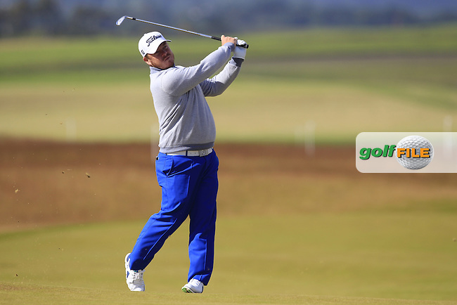 George Coetzee (RSA) during the first round of the Aberdeen Asset Management Scottish Open 2016, Castle Stuart  Golf links, Inverness, Scotland. 07/07/2016.<br /> Picture Fran Caffrey / Golffile.ie<br /> <br /> All photo usage must carry mandatory copyright credit (&copy; Golffile | Fran Caffrey)