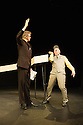 London, UK. 09.01.2016. Theatre des Bouffes du Nord present MARCEL, as part of the Lonodon International Mime Festival, at the Shaw Theatre. Picture shows: Jos Houben, Marcello Magni. Photograph © Jane Hobson.