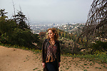 Farley Ziegler recently produced Tim's Vermeer, which was accepted with praise by several film festivals. She poses for a portrait at Griffith Park in Los Angeles, California, April 17, 2014.