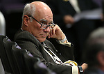 Lobbyist Keith Lee listens to tesitmony in a committee hearing at the Legislative Building in Carson City, Nev., on Tuesday, Feb. 3, 2015. <br /> Photo by Cathleen Allison