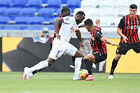 4th July 2020; Lyon, France; French League 1 friendly due to the Covid-19 pandemic forced league ending;  Moussa Dembele (lyon)