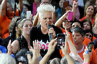"Pink performs on NBC's ""Today"" show in New York City"