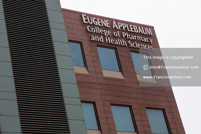 The Eugene Applebaum College of Pharmacy and Health Sciences is seen in Detroit (Mi) Sunday June 9, 2013. The Eugene Applebaum College of Pharmacy and Health Sciences is the pharmacy and health sciences college at Wayne State University.