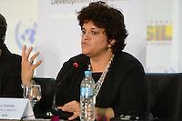 RIO DE JANEIRO-21/06/2012-Coletiva de imprensa com a Ministra do Meio Ambiente, Izabella Teixeira, na  Conferencia da ONU, no Rio Centro, zona oeste do Rio.Foto:Marcelo Fonseca-Brazil Photo Press